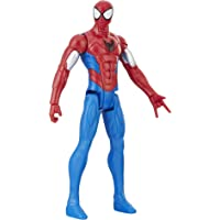 Marvel Spiderman Titan Spider Pantser, Beeldje 30cm