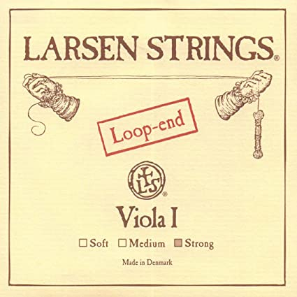 Larsen up to 16.5 Viola A String Strong Aluminum//Steel Loop-End