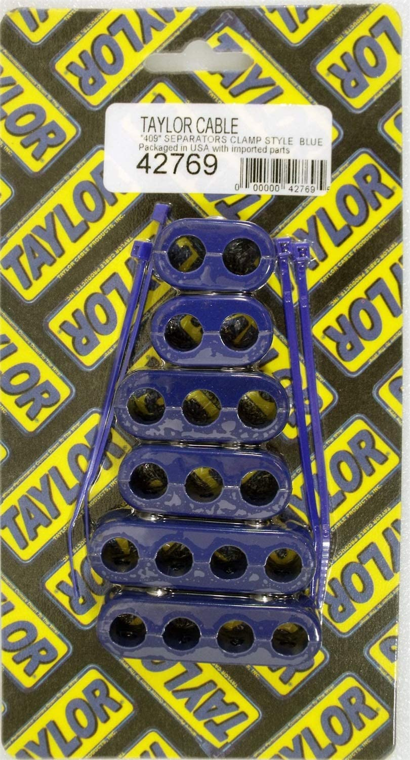 Taylor Cable 42769 Blue Clamp Style Wire Separator Kit