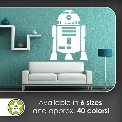 KIWISTAR Robot Droid   Space Star Wars Movie Wall Decals In 6 Sizes   Wall  Sticker