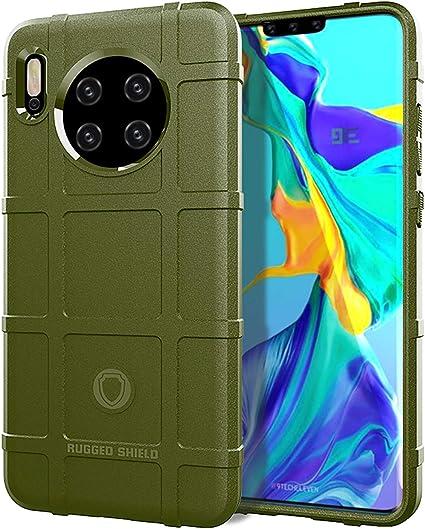 Custodia® Firmeza y Flexibilidad Smartphone Funda para Huawei Mate 30(Verde Ejército): Amazon.es: Electrónica