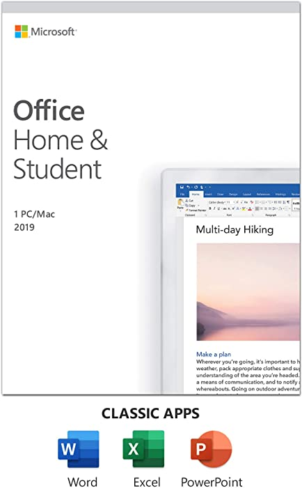 The Best Microsoft Office Home And Student 2019