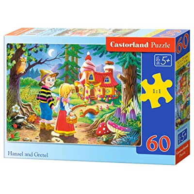 Castorland B-06526-1 - Puzzle - Hansel et Gretel - 60 Pièces