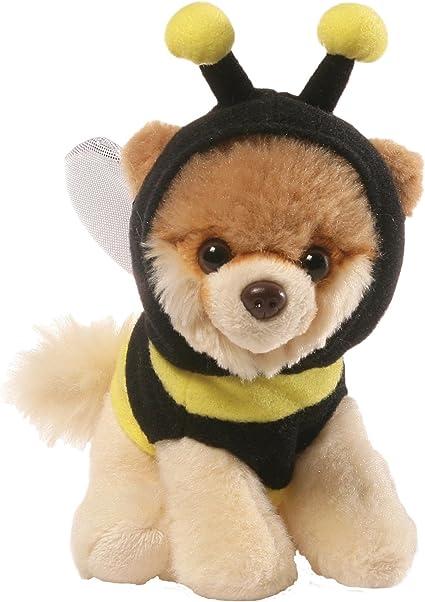 "Gund 5/"" Itty Bitty Boo Dog wearing Backpack"