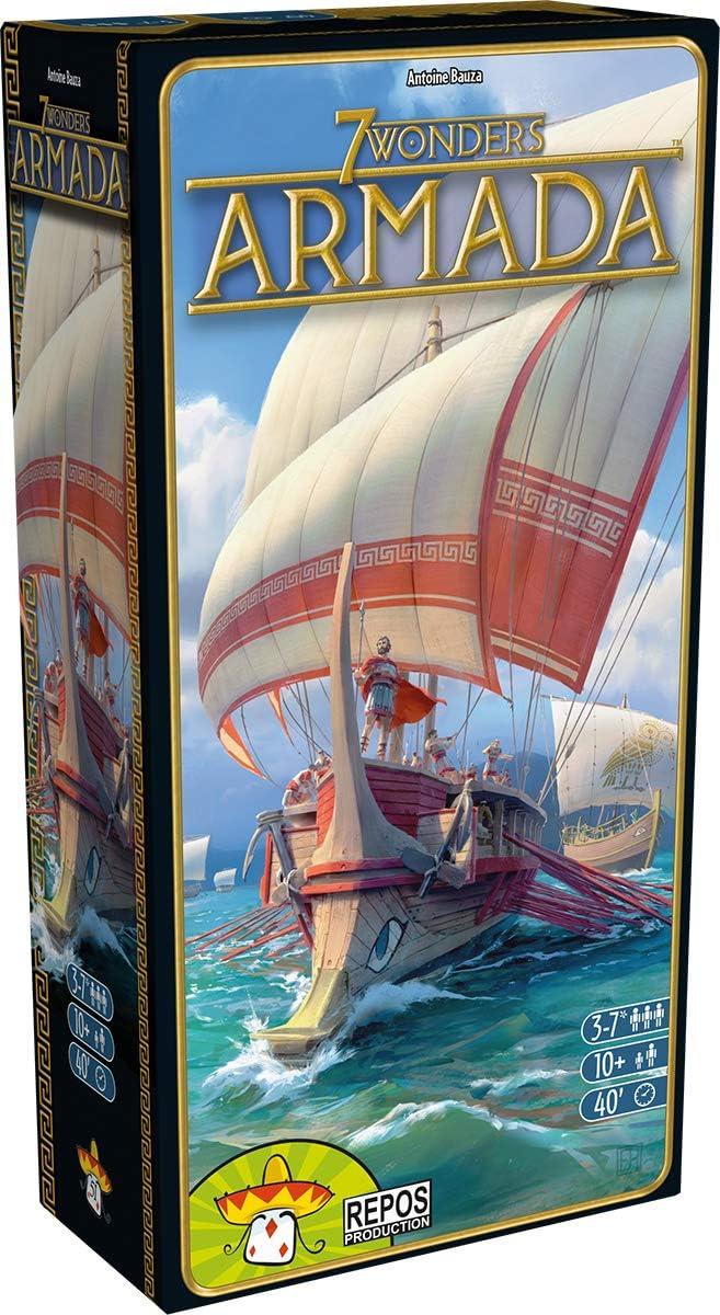 Asmodee rpod0010 7 Wonders de Armada, ampliación: Amazon.es: Juguetes y juegos