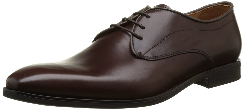 TALLA 46 EU. Geox U New Life A, Zapatos de Cordones Derby para Hombre