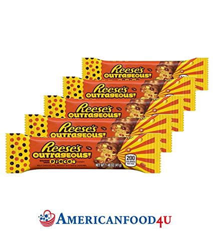 Americanfood4u Reeses Outrageous Peanut Butter Chocolate