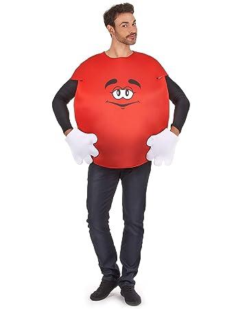 autentico l'atteggiamento migliore venduto in tutto il mondo Vegaoo - Costume Caramella Rossa per Adulto - Taglia UnicaCostume ...