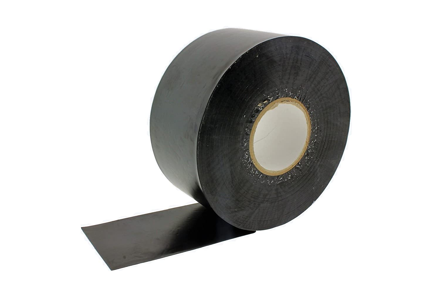 2 in x 100' Black Pipe Wrapping Wrap Tape 10 Mil Ultra Sticky Corrosion Inhibitor Plumbing Irrigation Utility Waterproofing UV Resistant