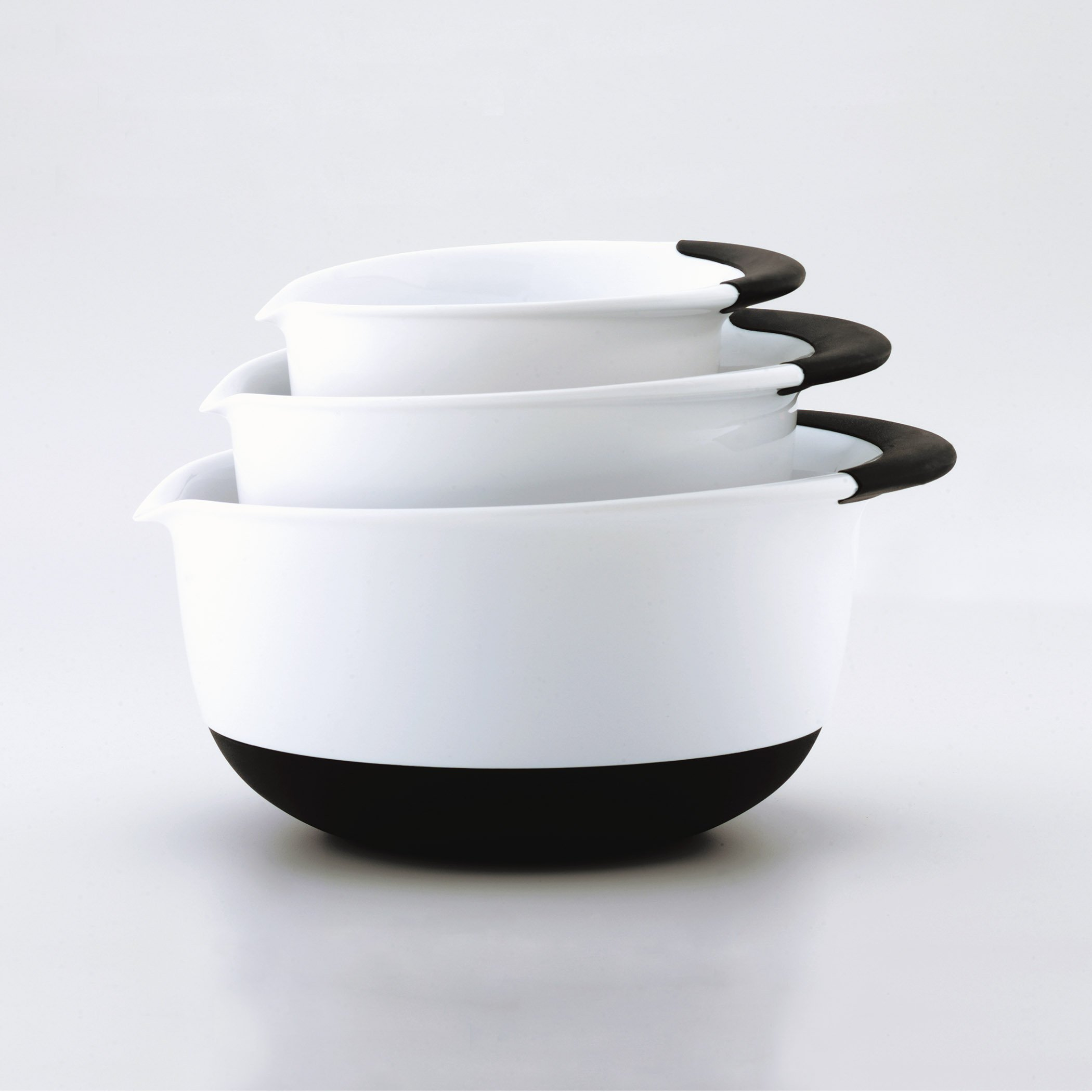 OXO Good Grips Mixing Bowl Set with Black Handles, 3-Piece by OXO (Image #8)