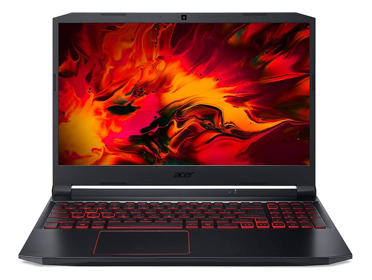 Acer Nitro 5 Intel Core i5-10th Gen 15.6-inch Display 1920 x 1080 Thin and Light Gaming Laptop (8GB Ram/1TB HDD + 256GB SSD/Windows 10 Home/GTX 1650Ti Graphics/Obsidian Black/2.3 Kgs), AN515-55