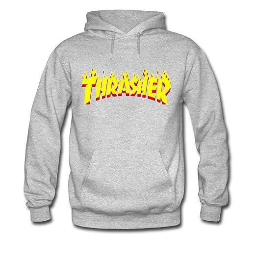 Amazon.com  LEEZOON THRASHER series cool hoodies support custom  Books 9ed2c5f92