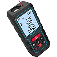 MiLESEEY Laser Measure, 229ft M/in/Ft Digital Distance Meter, Laser Measurement Tool with Electronic Angle Sensor…