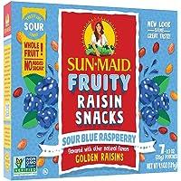 Sun-Maid Blue Raspberry Sour Raisin Snacks, 0.7 OZ, 7 CT (Pack of 3)