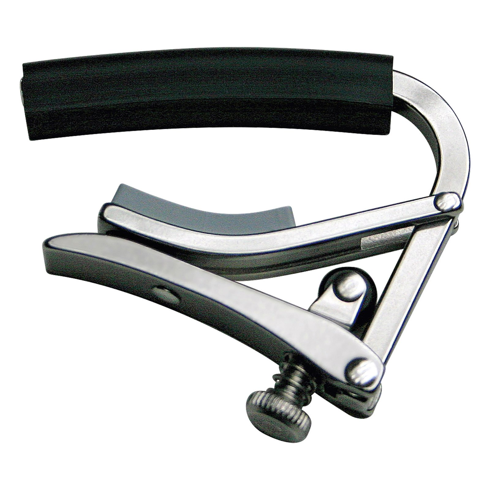 Shubb Deluxe Series GC-30E (S4) 7.25 Radius Neck Electric Guitar Capo - Stainless Steel