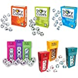 Rory's Story Cubes Bundle with Original, Actions, Voyages, Prehistoria, Enchanted, Clues, Intergalactic, Medic, Score (9 items) by Gamewright
