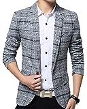 ODFMCE ジャケット メンズ 秋冬 スーツ テーラードジャケット ビジネス カジュアル 紳士 スリム おおきいサイズ