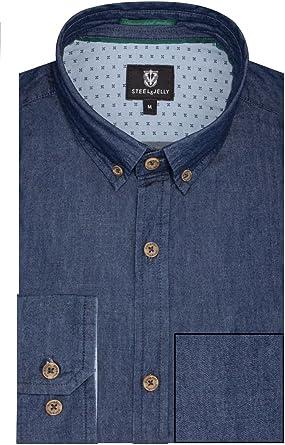 Camisa de Chambray – nd05sh: Amazon.es: Ropa y accesorios