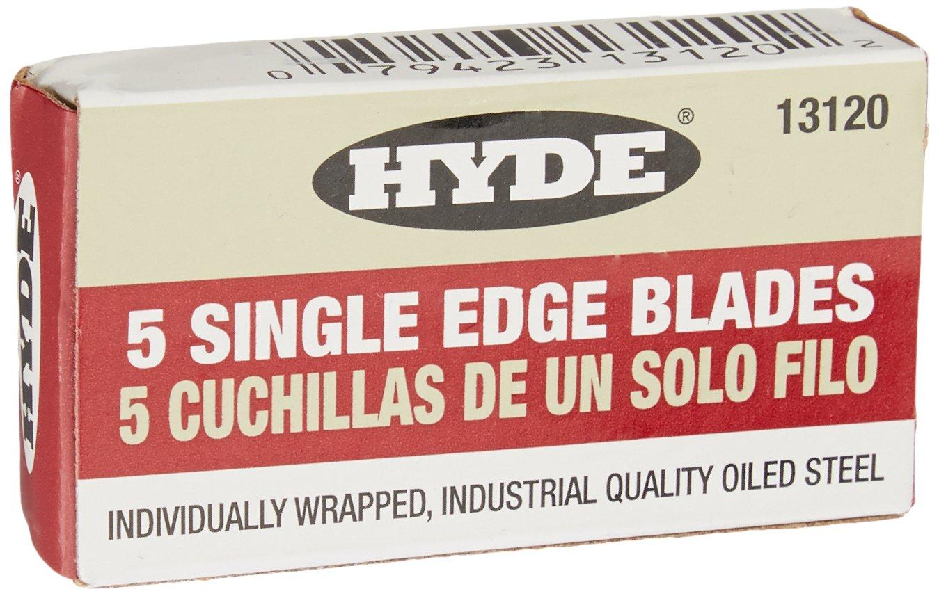 Hyde Tools 13050 Delta Heavy Duty Glass Scraper, 1 Pack