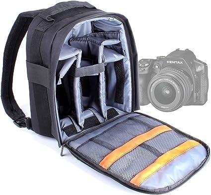DURAGADGET - Mochila para cámara de fotos Pentax K-m / K110D ...