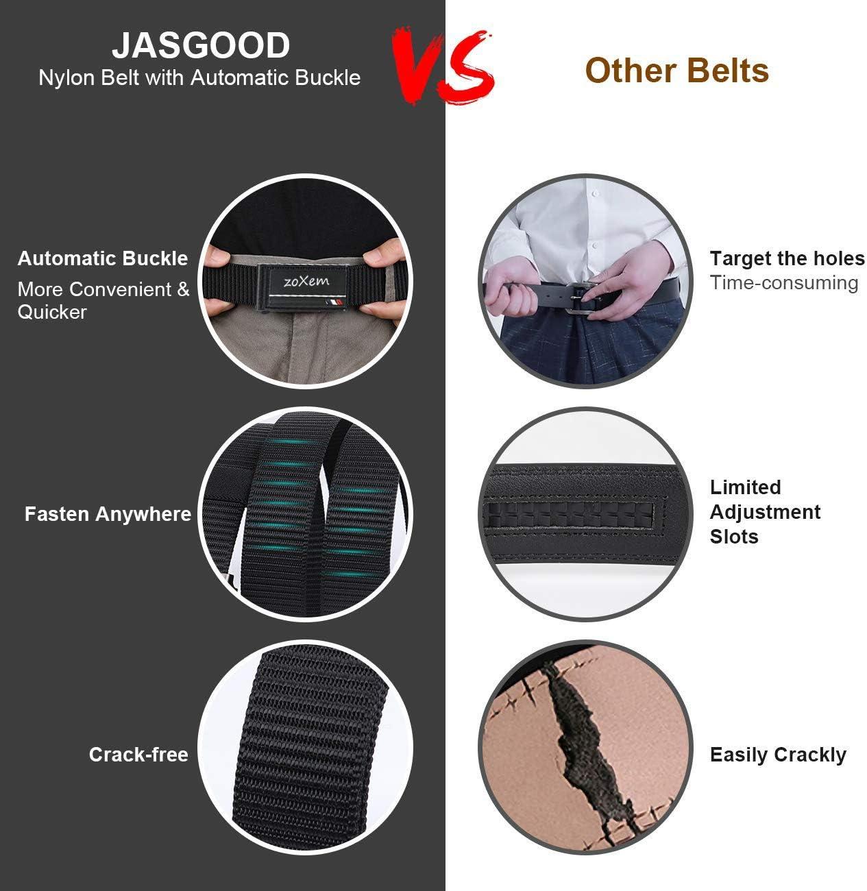 1.5/'/' Adjustable Military Nylon Belt with Metal Buckle Men Tactical Belt