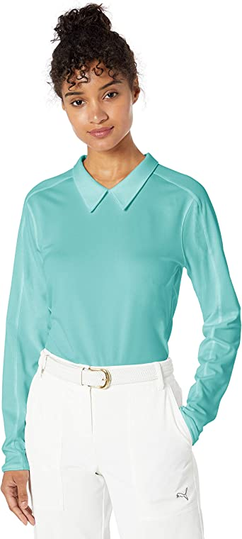 PUMA 2019 Long Sleeve Polo Manga Larga, Mujer: Amazon.es: Ropa y ...