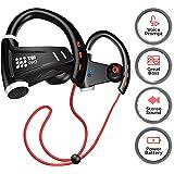 [Upgraded 2020] 12+Hours Sport Bluetooth Headphones - Professional Wireless Sport Earphones w/Mic - IPX7 Waterproof Deep…