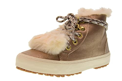 5703edc7225ddd Gioseppo Sneakers Female Shoes with Fur 41797 Gold Size 26 Gold