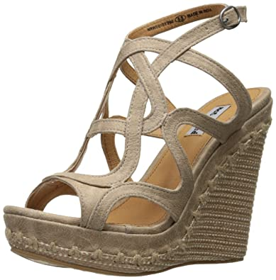 31c8e60732e Not Rated Anatolia Women s Strappy Wedge Sandal Shoes Beige Size 11 ...