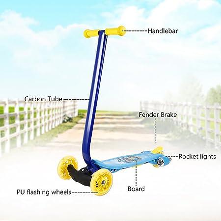 BUSYALL Mini Scooter Patinetes para Niños Niñas 3-10 Años ...