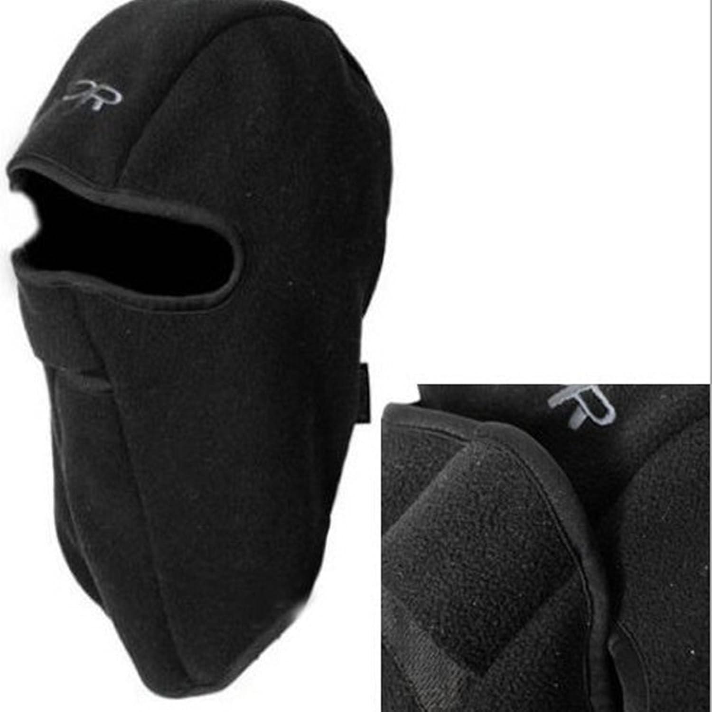 Tejido polar térmico para la cara de invierno capucha para moto para el cuello de piel sintética para bicicleta gorro de esquí tapa para máscara SYM