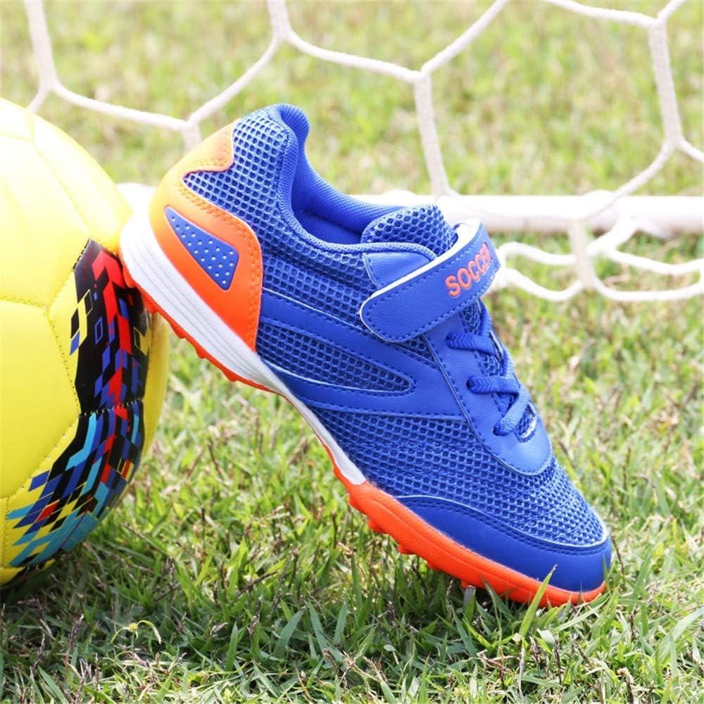 Right Zapatos de Velcro Fútbol niños con Talla Baja Spikes Deportes fútbol Botas de niños al Aire Libre Tacos de fútbol Formación Zapatillas de Deporte: Amazon.es: Deportes y aire libre