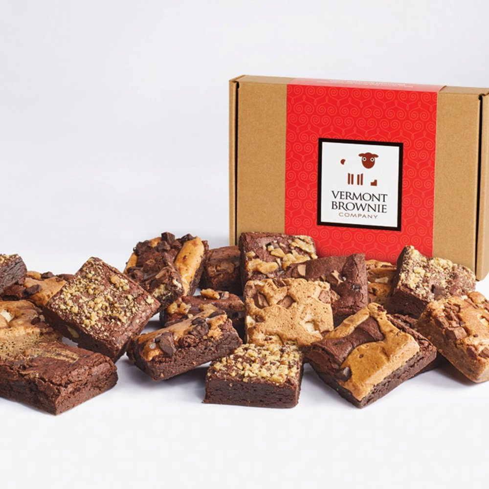 Amazon.com : Gourmet Brownie Valentines Day Chocolate Gift Box Sampler - 2.675
