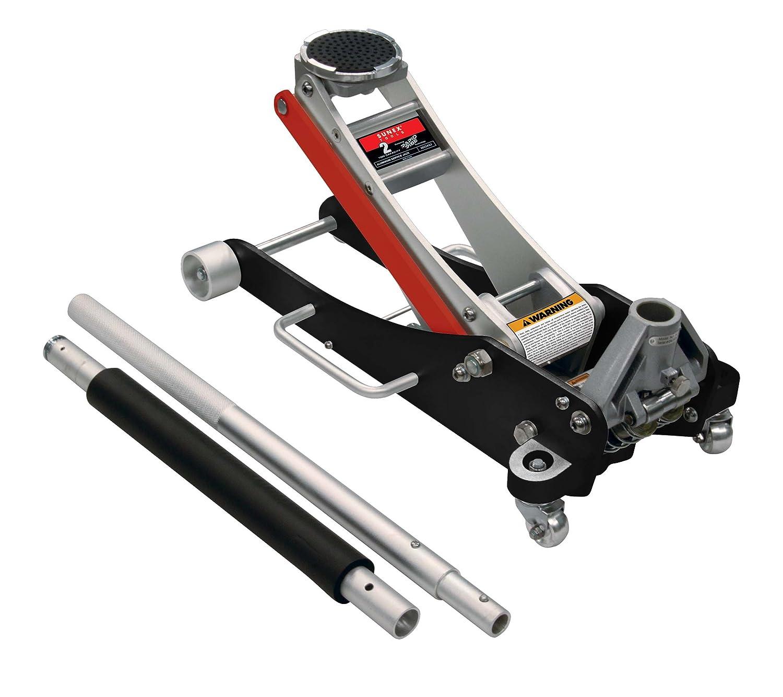 Amazon.com: Sunex Tools 6602ASJ Aluminum Service Jack With Quick Lifting  System   2 Ton Capacity: Automotive