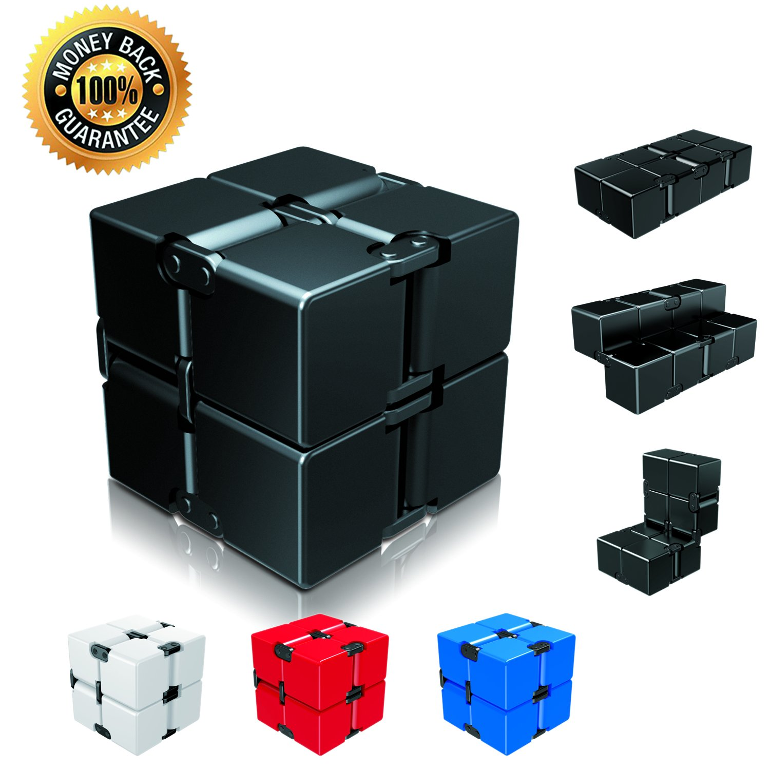 Amazon Infinity Cube Fid Toy Single Finger Endless Fun