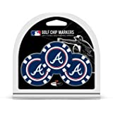 MLB 3 Pack Golf Chip Ball Markers