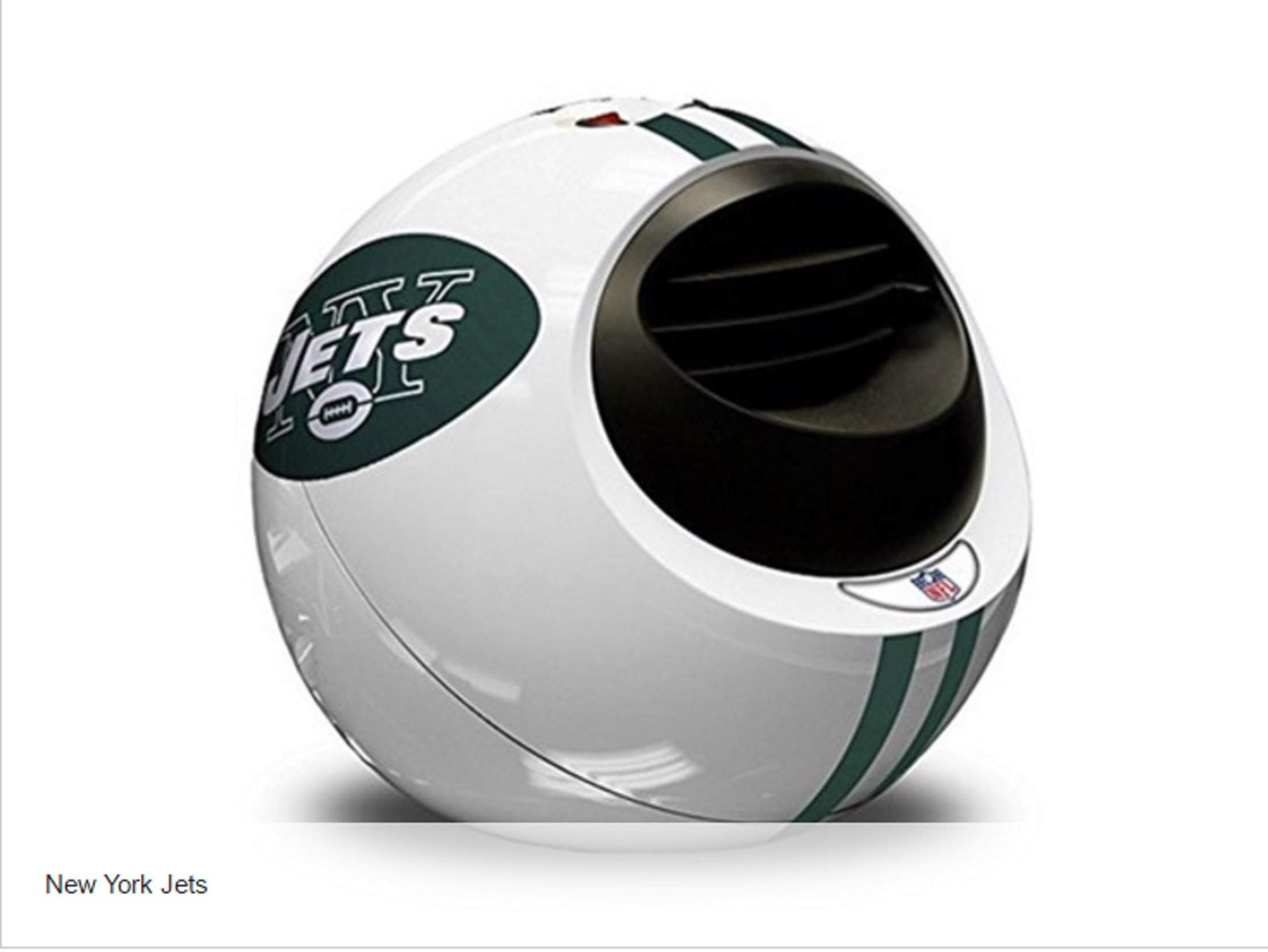 NFL New York Jets Portable Infrared Indoor Helmet Space Heater