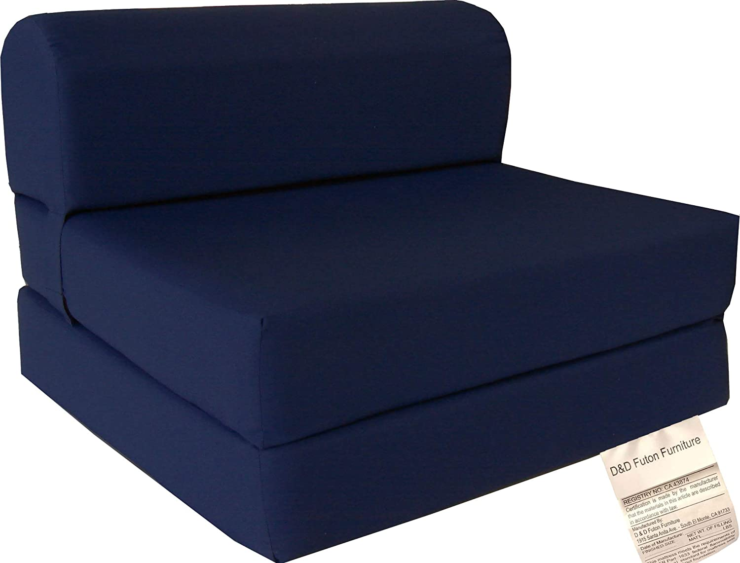 D&D Futon Furniture NavyFB18lb63270