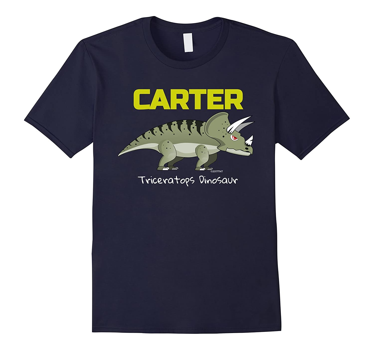 Dinosaur Personalized Name Carter Best Price TShirt-TJ