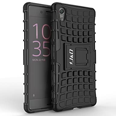 outlet store a574a 80843 J&D Case Compatible for Xperia X Case with Kickstand, [Dual Layer] Heavy  Duty Slim Fit Hybrid Shock Proof Protective Cover Case for Sony Xperia X  Case ...