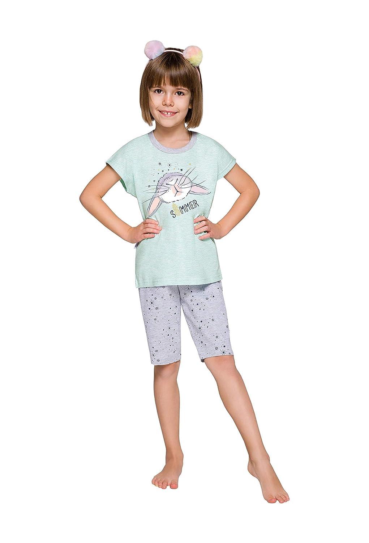 TARO Pijamas para niñas, algodón, Patrones cómodos y Suaves, Coloridos 18 Meses- 9 años 86-140 cm: Amazon.es: Ropa y accesorios