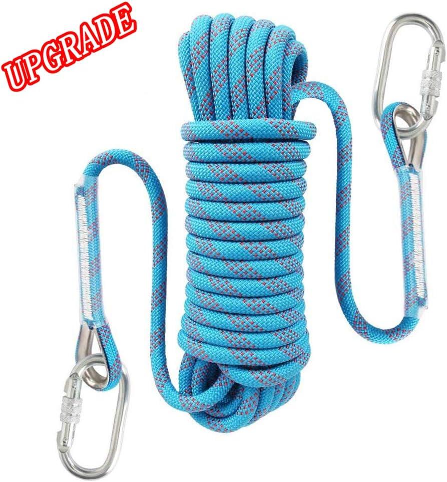 Honexx Cuerda de Escalada al Aire Libre de 10 mm Roca ...