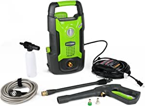 Greenworks 1500 PSI 13 Amp 1.2 GPM Pressure Washer GPW1501 (Renewed)