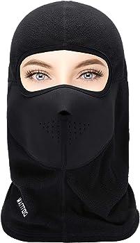 Wantdo Balaclava Unisex Thermal Fleece Winter Face Mask
