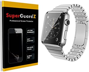 [4-Pack] for Apple Watch 38 mm (1st Generation) - SuperGuardZ [Full Cover] Screen Protector, Ultra Clear, Anti-Scratch, Anti-Bubble