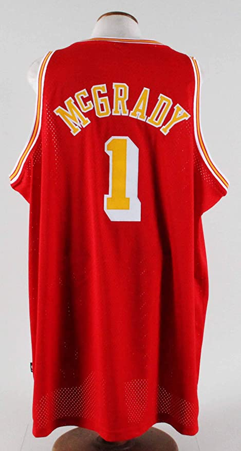 size 40 5f38b d360d Tracy McGrady Authentic Jersey Houston Rockets at Amazon's ...