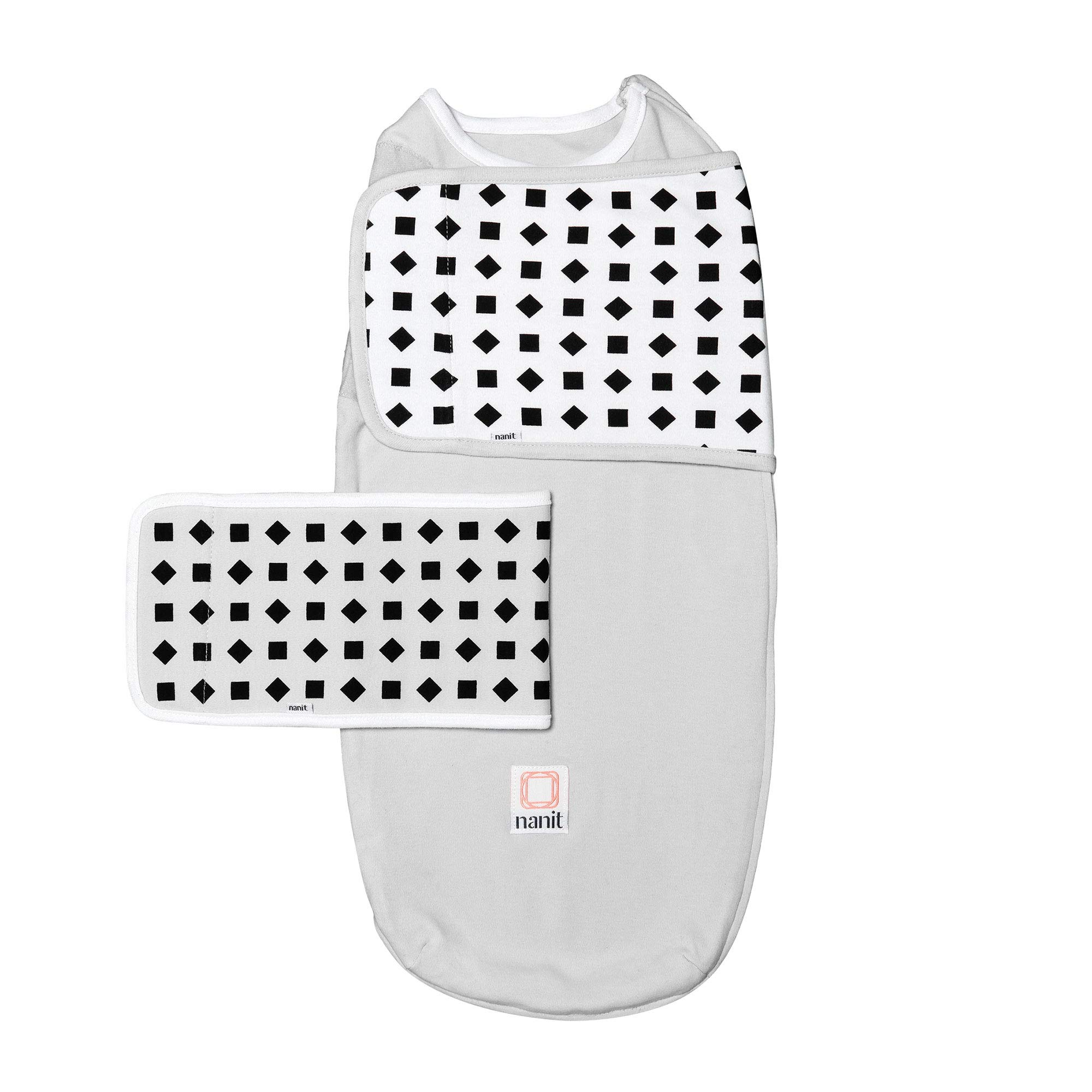 Nanit Breathing Wear Starter Pack - Size Small, Pebble