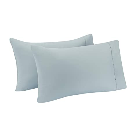 Details about  /1 X Solid Nylon Pillow Case Bedding Pillowcase Smooth Surface Black Bag RI