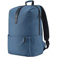 Xiaomi Shoulder Backpack Casual Bag Schoolbag Polyester Material Zipper Youth College Leisure Style 15.6 inch Laptop Computer Pack Water Resistant for Boys Girls Students Man Woman (Blue)
