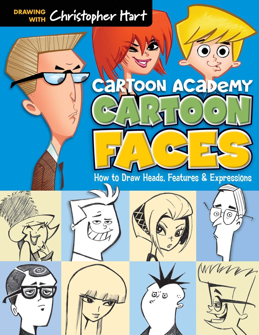 Cartoon Faces Features Expressions Academy product image